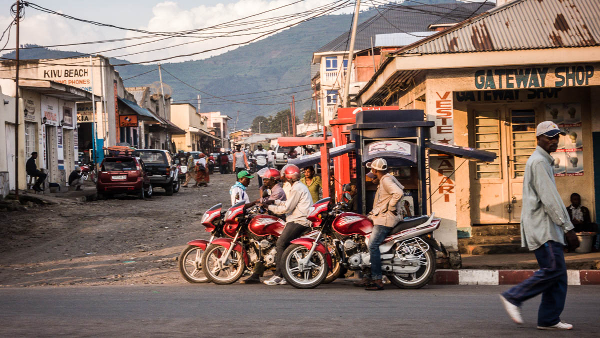 Goma street scene, Democratic Republic of the Congo